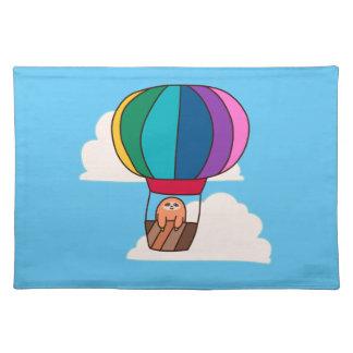 De Luiaard van de Ballon van de hete Lucht Placemat