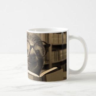 De Luiaard van de lezing Koffiemok