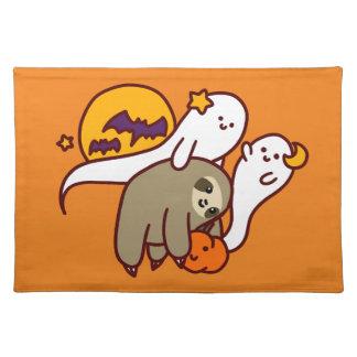 De Luiaard van Halloween Placemat