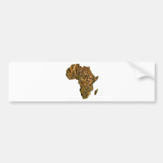 De Luipaard van Afrika Bumpersticker