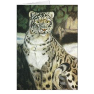 """De """"luipaard van de sneeuw """" briefkaarten 0"""