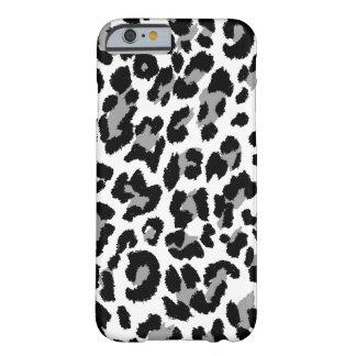 De luipaarddruk van PixDezines Barely There iPhone 6 Hoesje