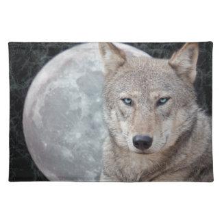 De Maan Placemat van de wolf