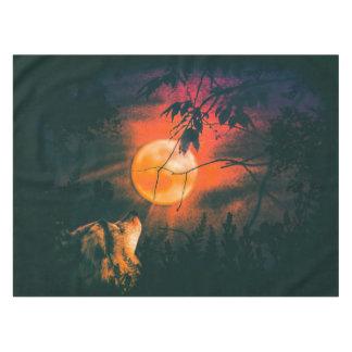 De Maan van de wolf en van de Weide Tafelkleed
