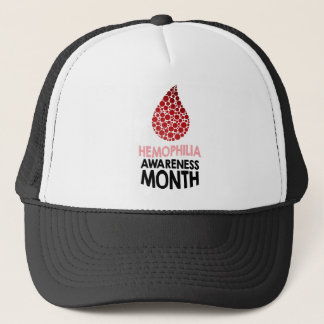 De Maand van de Voorlichting van de hemofilie - de Trucker Pet