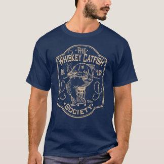 De maatschappij van de Katvis van de Whisky - T Shirt
