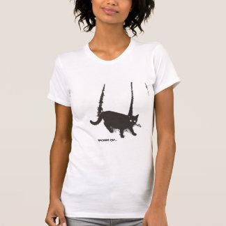 De macabere T-shirt van de Kat ~