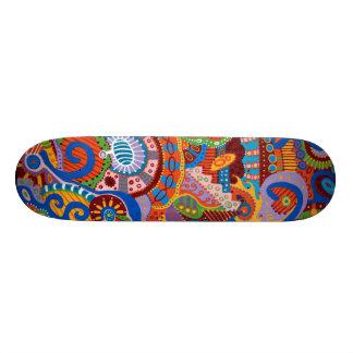 De machine 20,0 cm skateboard deck