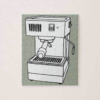 De machine van de espresso foto puzzels