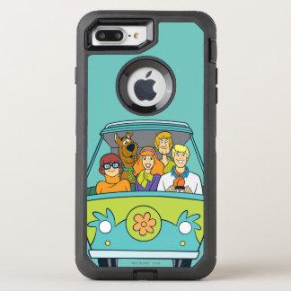 De machine van de Geheimzinnigheid OtterBox Defender iPhone 7 Plus Hoesje