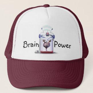 De Macht van hersenen Trucker Pet