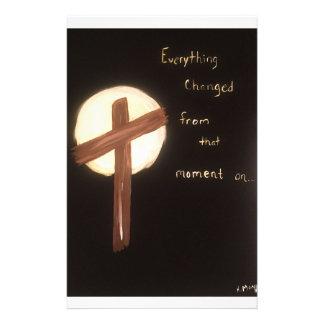 De macht van het Kruis Briefpapier