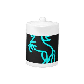 De Macht van het paard in Blauw