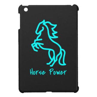 De Macht van het paard in Blauw iPad Mini Case