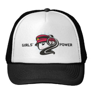 De Macht van meisjes Petten Met Netje