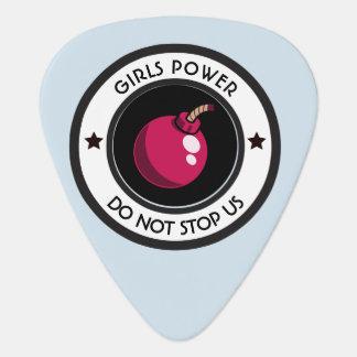 De macht van meisjes plectrum