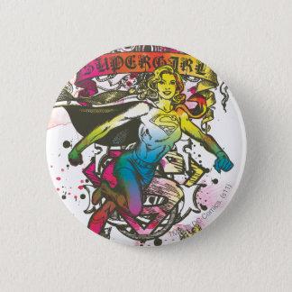 De Macht van Supergirl Ronde Button 5,7 Cm