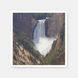 De macht van Yellowstone Wegwerp Servet