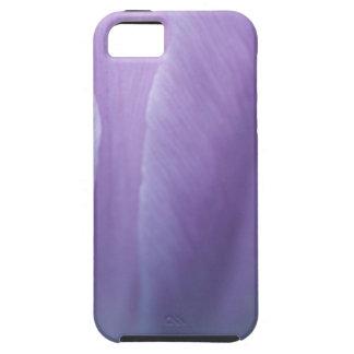 De Macro van de Tulp van Puple Tough iPhone 5 Hoesje