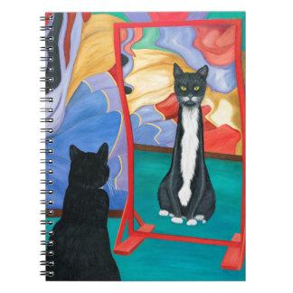 De Magere Kat van het Huis van de pret Ringband Notitieboek
