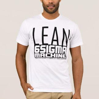 De MAGERE Machine van Zes Sigma T Shirt