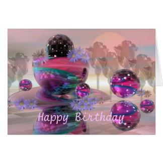 De magische Gelukkige kaart van de Verjaardag