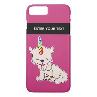 De magische Kat van de Eenhoorn = Kittycorn iPhone 8/7 Plus Hoesje