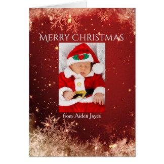 De Magische Klantgerichte Vrolijke Kerstkaart van Kaart