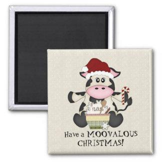 De magneet van de de koevakantie van Kerstmis