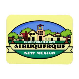 De magneet van de de stadsherinnering van Albuquer