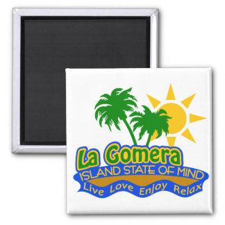 De magneet van de Gemoedsgesteldheid van La Gomera