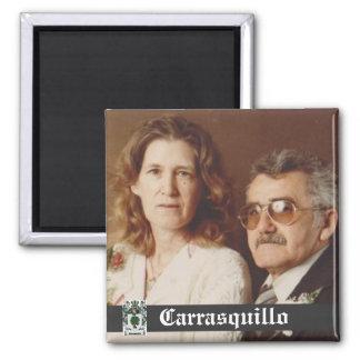 De Magneet van de Grootouders van Carrasquillo van