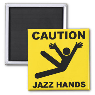 De magneet van de Handen van de Jazz van de voorzi