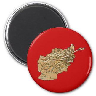 De Magneet van de Kaart van Afghanistan