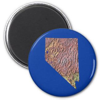 De Magneet van de Kaart van Nevada