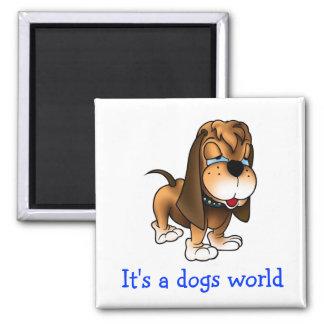 De Magneet van de Koelkast van de Hond van het Pup