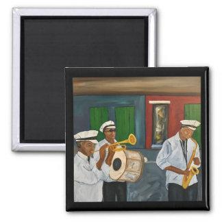 De Magneet van de Kunst van de Band van de Jazz
