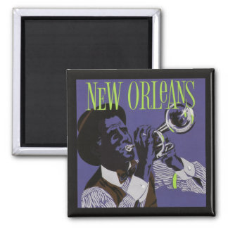 De magneet van de Muziek van New Orleans