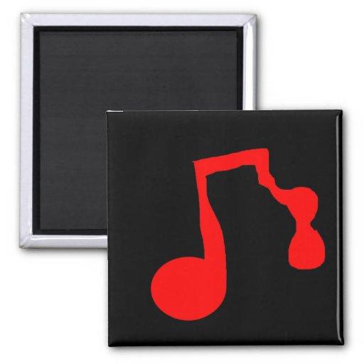De Magneet van de Nota van de muziek