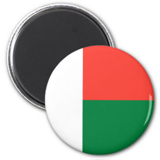 De Magneet van de Vlag van Madagascar
