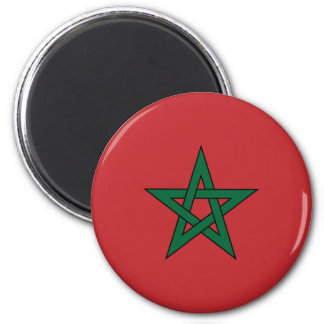 De Magneet van de Vlag van Marokko