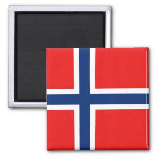 De Magneet van de Vlag van Noorwegen