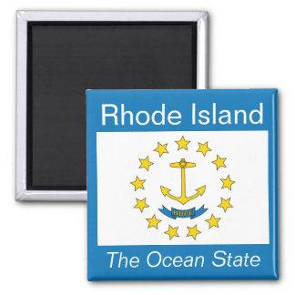 De Magneet van de Vlag van Rhode Island