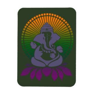 De magneet van Ganesh