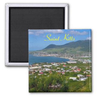 De magneet van heilige Kitts