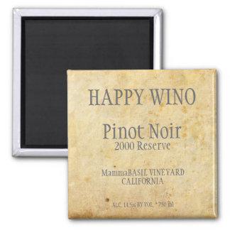 De Magneet van het Etiket van de Pinot Noir