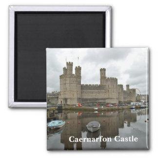 De Magneet van het Kasteel van Caernarfon