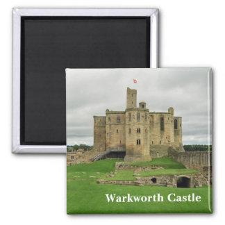 De Magneet van het Kasteel van Warkworth