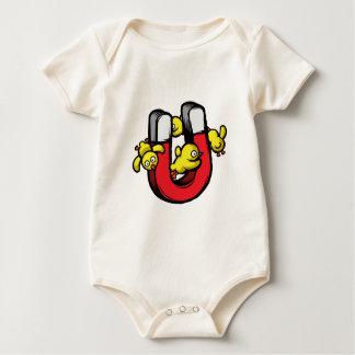 De Magneet van het kuiken Baby Shirt