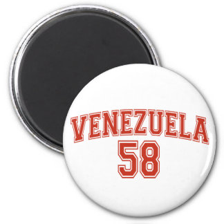 De Magneet van het Landnummer Van Venezuela